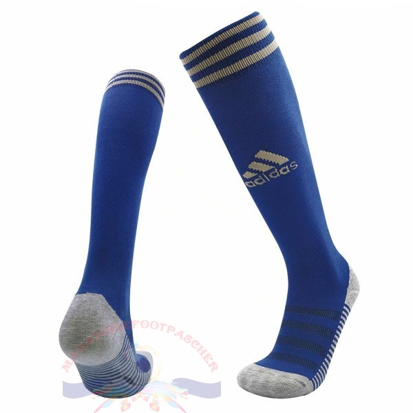 Magasin Foot adidas Domicile Chaussette Leicester City 2019 2020 Bleu