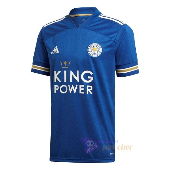 Magasin Foot adidas Domicile Maillot Leicester City 2020 2021 Bleu