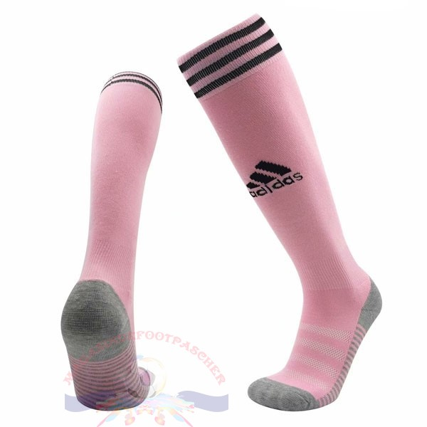 Magasin Foot adidas Exterieur Chaussette Leicester City 2019 2020 Rose