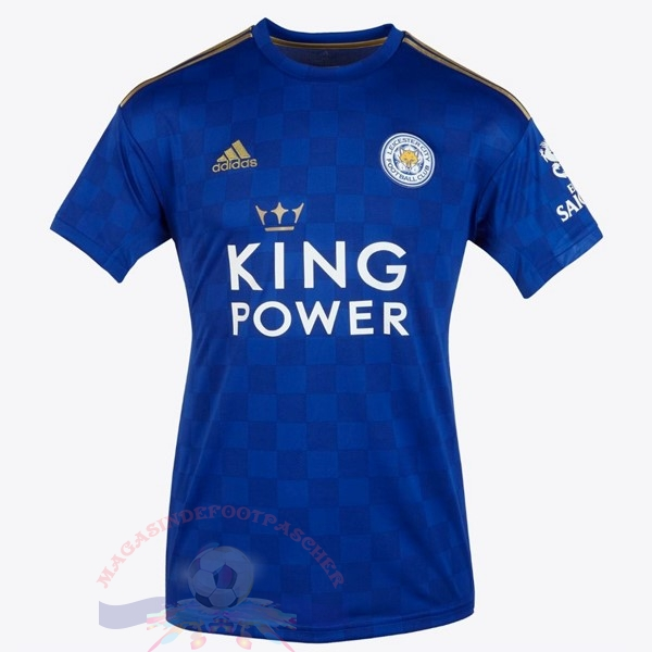 Magasin Foot adidas Thailande Domicile Maillot Leicester City 2019 2020 Bleu
