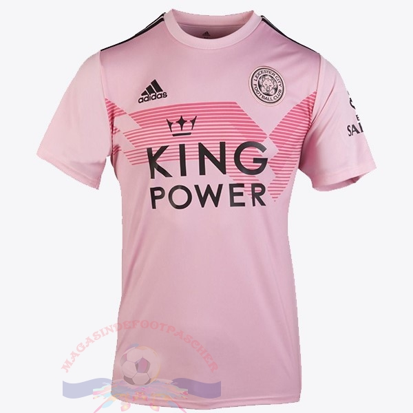 Magasin Foot adidas Thailande Exterieur Maillot Leicester City 2019 2020 Rose