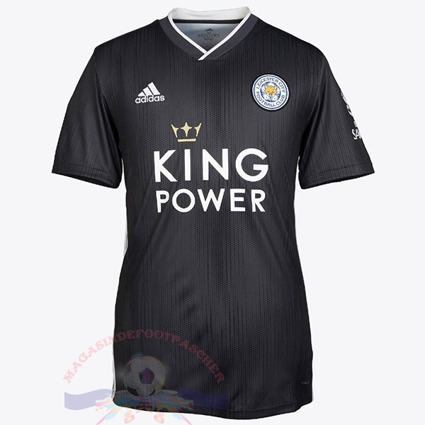 Magasin Foot adidas Thailande Third Maillot Leicester City 2019 2020 Noir