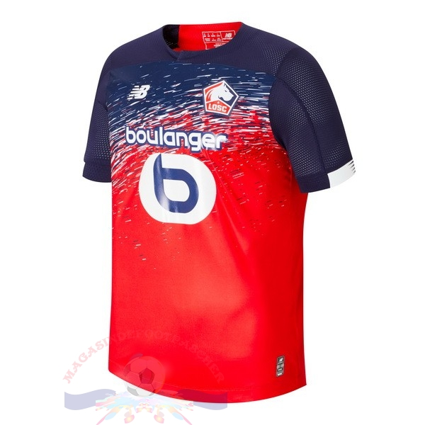Magasin Foot New Balance Domicile Maillot LOSC 2019 2020 Rouge