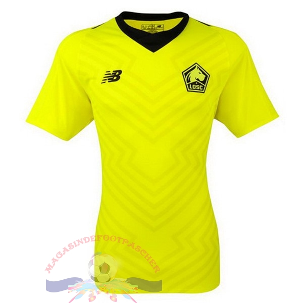 Magasin Foot New Balance Exterieur Maillots LOSC 18-19 Vert