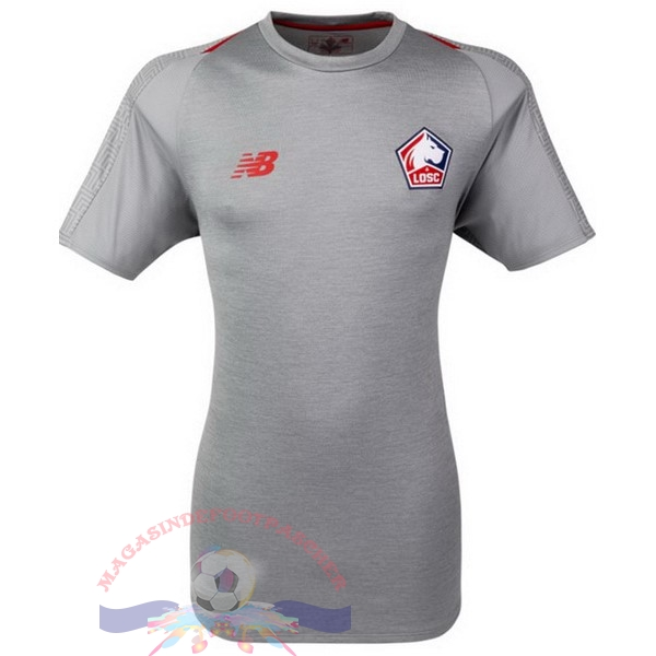 Magasin Foot New Balance Third Maillots LOSC 18-19 Gris