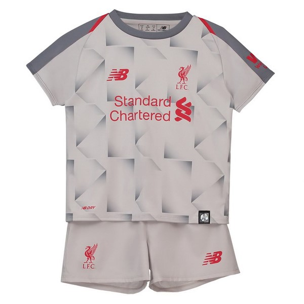 Magasin Foot New Balance Third Ensemble Enfant Liverpool 2018 2019 Blanc