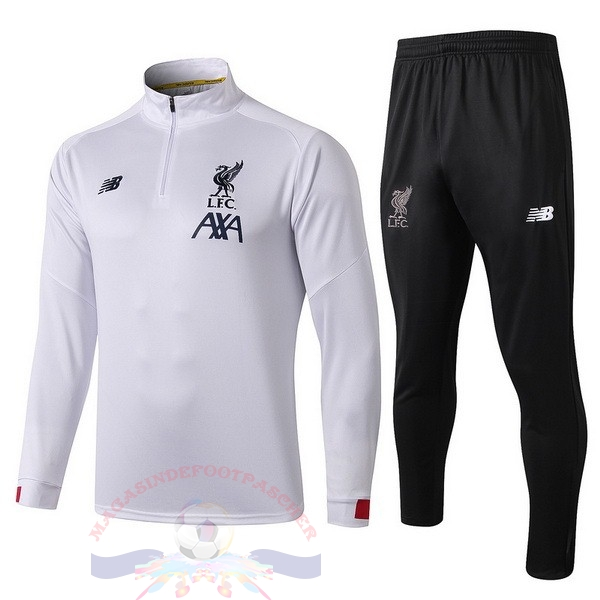Magasin Foot New Balance Survêtements Enfant Liverpool 2019 2020 Blanc Rouge