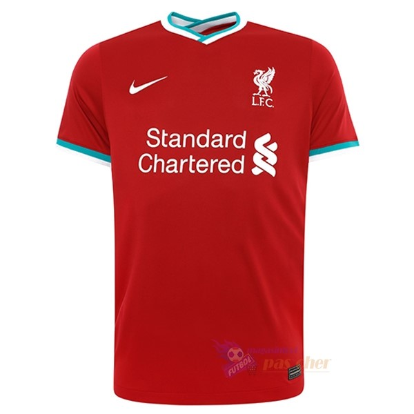 Magasin Foot Nike Thailande Domicile Maillot Liverpool 2020 2021 Rouge