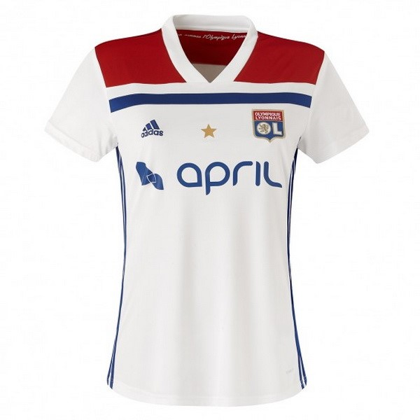 Magasin Foot adidas Domicile Maillots Femme Lyonnais 2018 2019 Blanc
