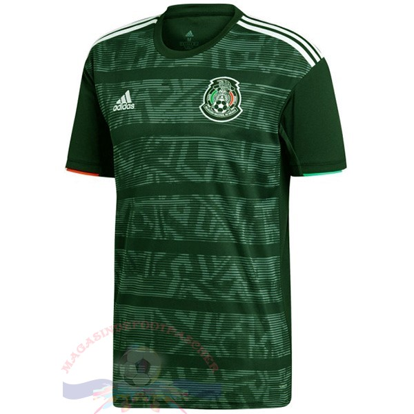 Magasin Foot adidas Thailande Exterieur Maillot Mexico 2019 Vert