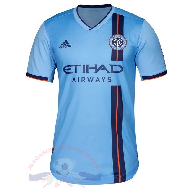 Magasin Foot Adidas DomiChili Maillot New York City 2019 2020 Bleu