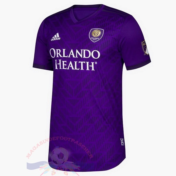 Magasin Foot Adidas DomiChili Maillot Orlando City 2019 2020 Purpura