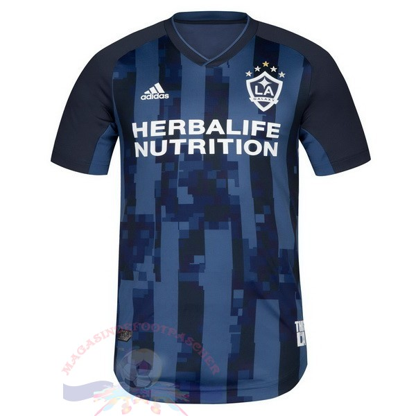 Magasin Foot Adidas Exterieur Maillot Galaxy de Los Angeles 2019 2020 Bleu