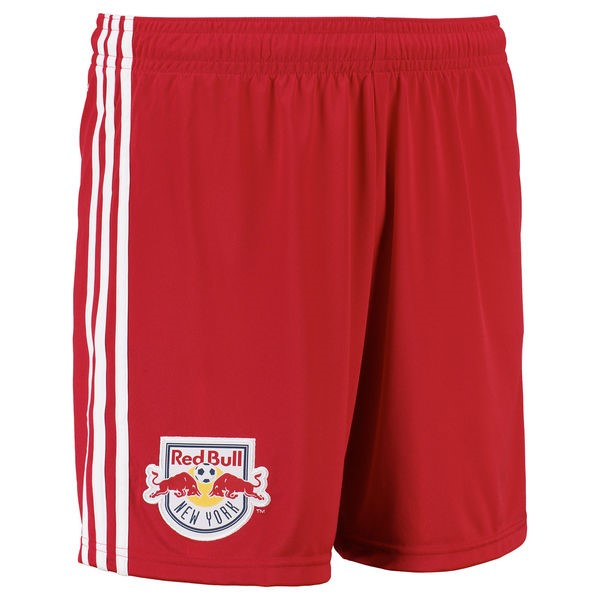 Magasin Foot adidas Domicile Shorts Red Bulls de New York 2017 2018 Rouge
