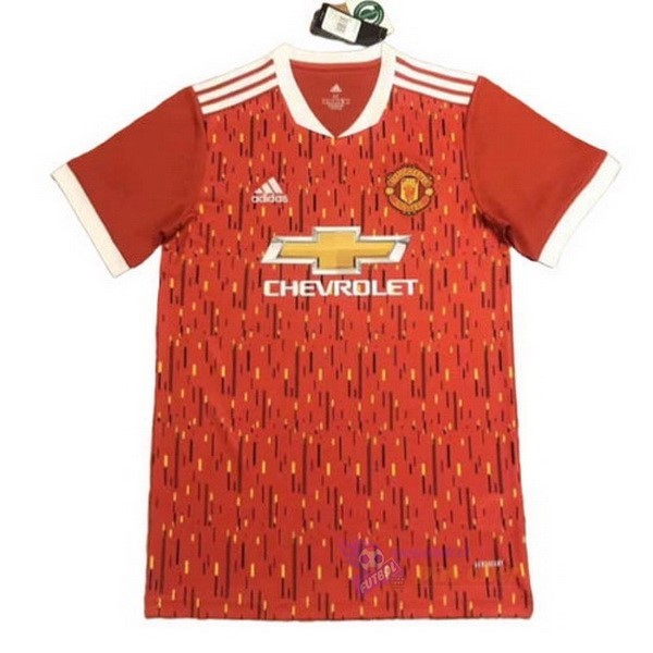 Magasin Foot adidas Concept Domicile Maillot Manchester United 2020 2021 Rouge