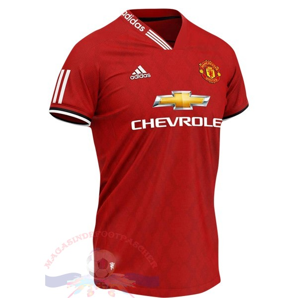 Magasin Foot Adidas Concept Maillot Manchester United 2019 2020 Rouge