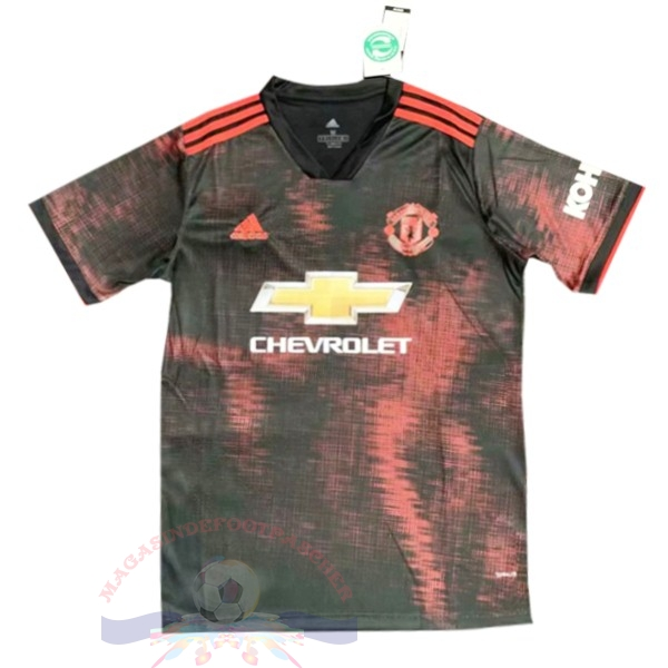 Magasin Foot adidas Entrainement Manchester United 2019 2020 Noir Rouge