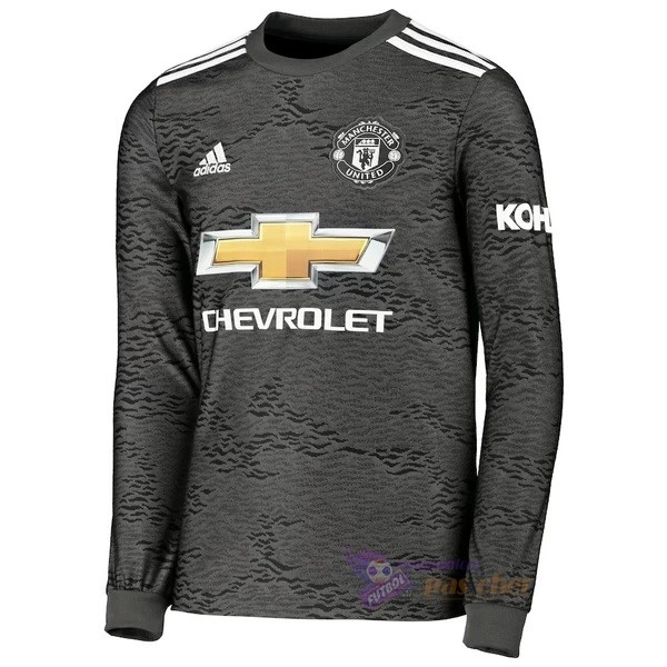 Magasin Foot adidas Exterieur Manches Longues Manchester United 2020 2021 Noir