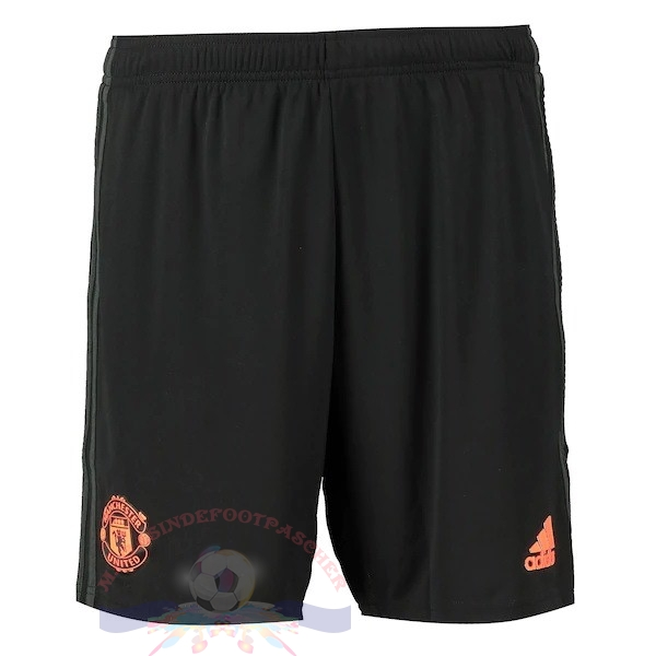 Magasin Foot adidas Third Pantalon Manchester United 2019 2020 Noir