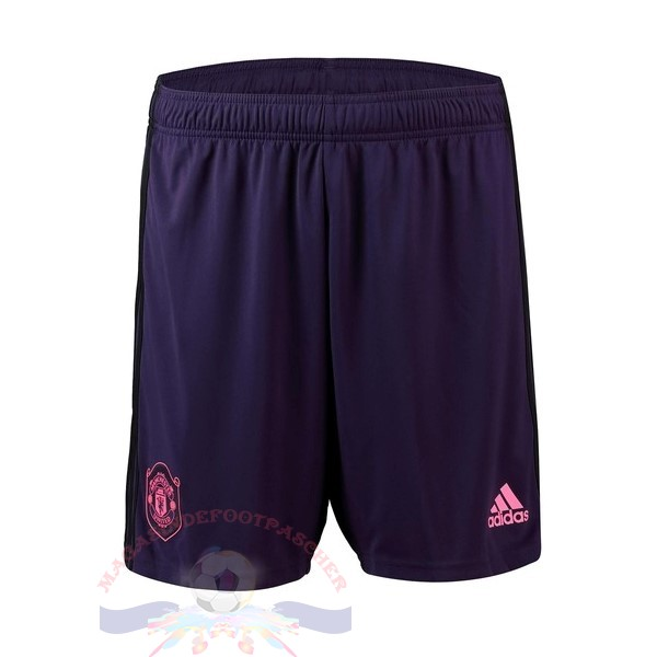 Magasin Foot Adidas Domicile Pantalon Manchester United Gardien 2019 2020 Purpura