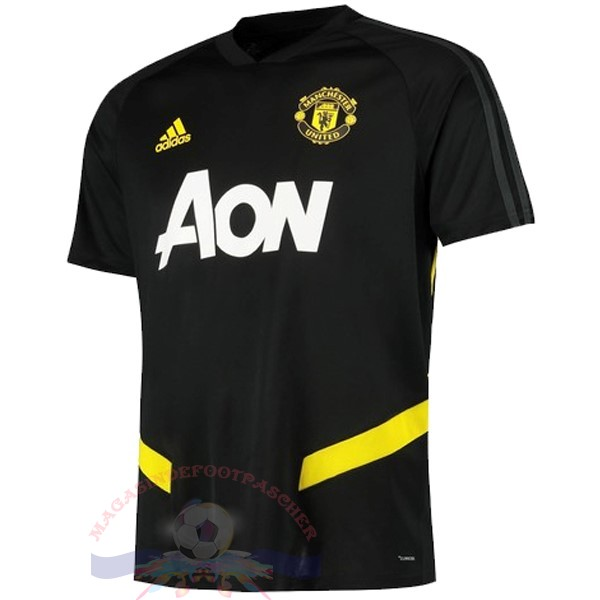 Magasin Foot Adidas Entrainement Manchester United 2019 2020 Noir