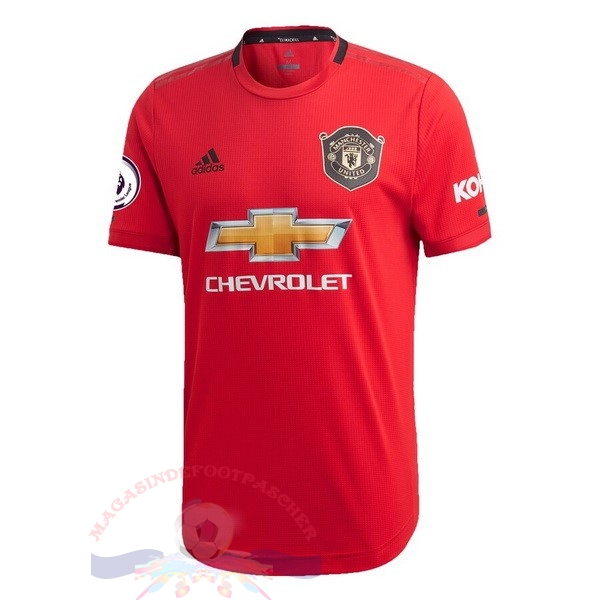 Magasin Foot adidas Domicile Maillot Manchester United 2019 2020 Rouge