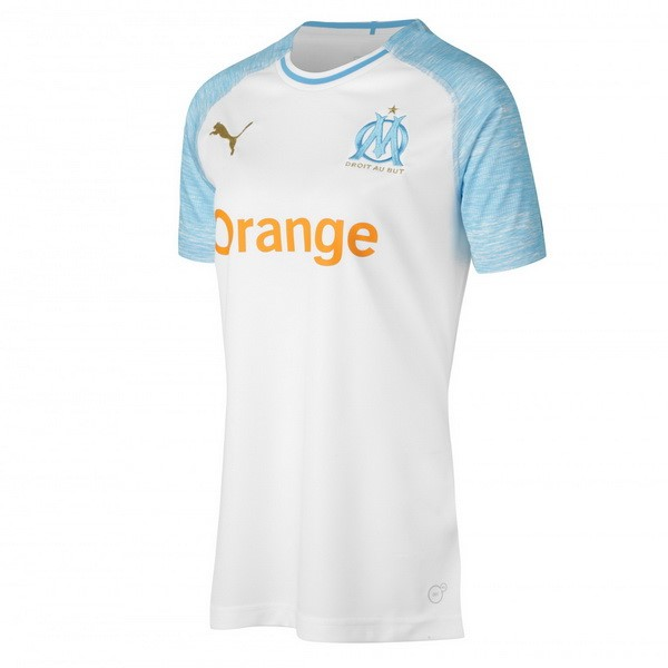Magasin Foot PUMA Domicile Maillots Femme Marseille 2018 2019 Blanc
