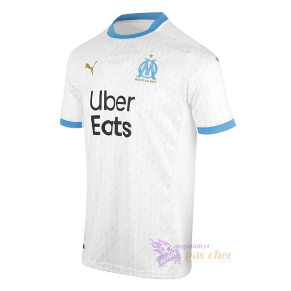 Magasin Foot PUMA Domicile Maillot Marseille 2020 2021 Blanc
