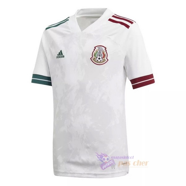 Magasin Foot adidas Exterieur Maillot Mexique 2020 Blanc