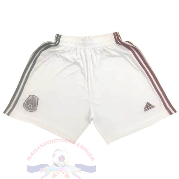 Magasin Foot adidas Exterieur Pantalon Mexique 2020 Blanc