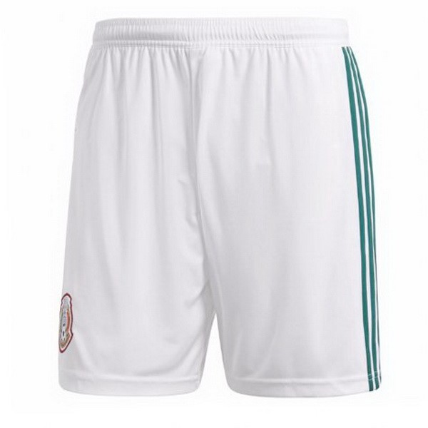 Magasin Foot adidas Domicile Shorts Mexique 2018 Blanc