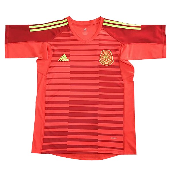 Magasin Foot adidas Maillots Gardien Mexique 2018 Rouge