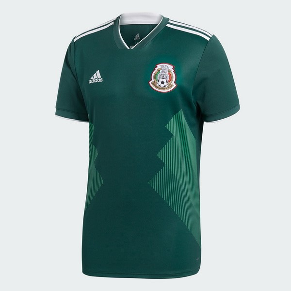 Magasin Foot adidas Thailande Domicile Maillots Mexico 2018 Vert
