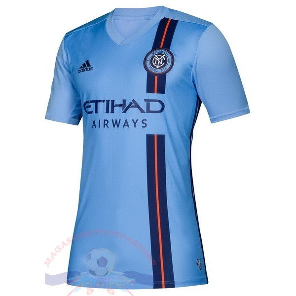 Magasin Foot Adidas DomiChili Maillot Femme New York City 2019 2020 Bleu
