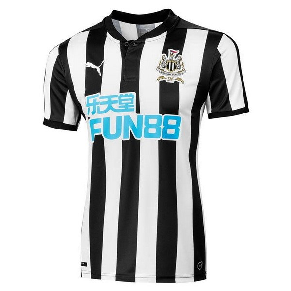 Magasin Foot PUMA Domicile Maillots Newcastle United 2017 2018 Noir