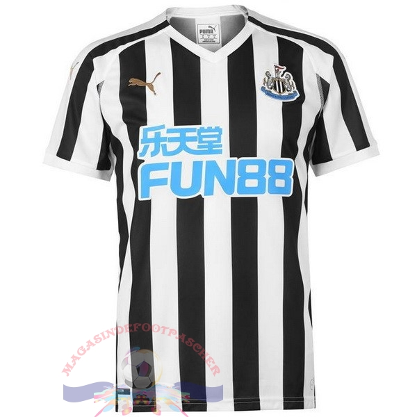 Magasin Foot PUMA Domicile Maillots Newcastle United 2018-2019 Noir
