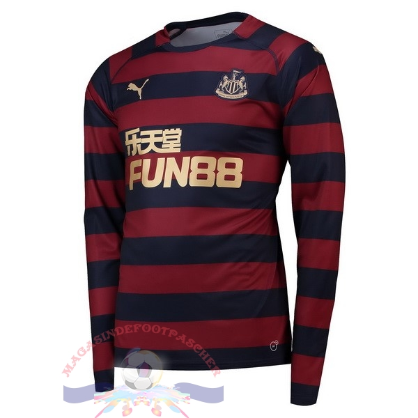 Magasin Foot PUMA Exterieur Manches Longues Newcastle United 2018-2019 Rouge