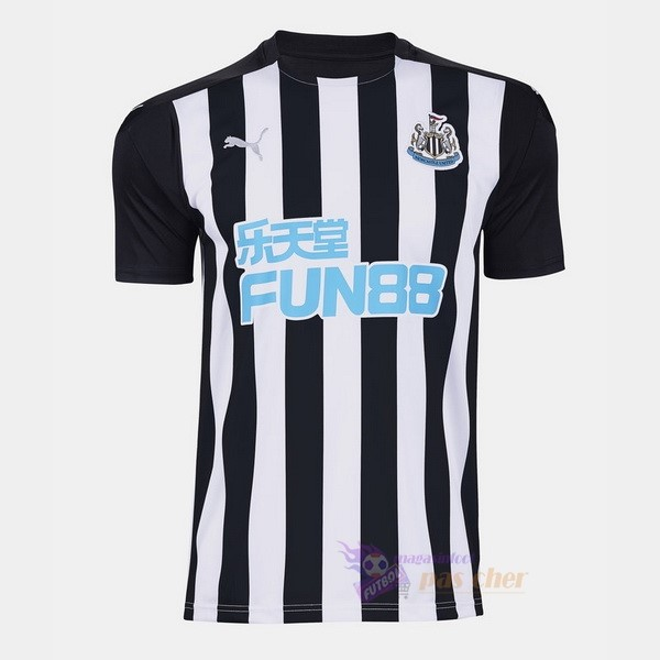 Magasin Foot PUMA Domicile Maillot Newcastle United 2020 2021 Noir