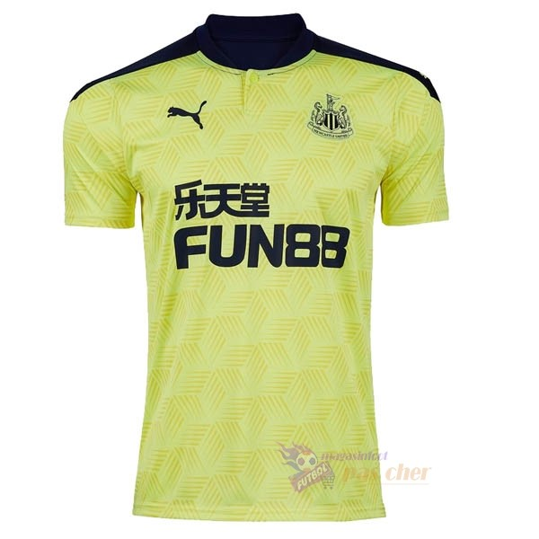 Magasin Foot PUMA Exterieur Maillot Newcastle United 2020 2021 Jaune