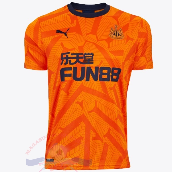 Magasin Foot Puma Third Maillot Newcastle United 2019 2020 Orange