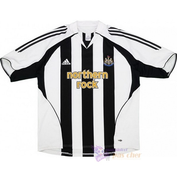 Magasin Foot adidas Domicile Maillot Newcastle United Rétro 2005 2006 Noir Blanc