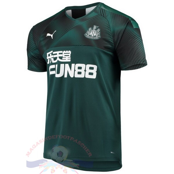 Magasin Foot PUMA Exterieur Maillot Newcastle United 2019 2020 Vert