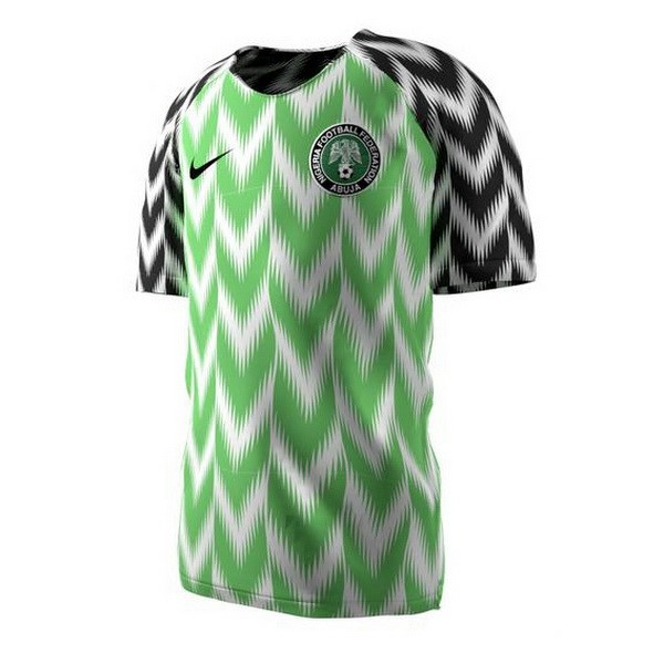 Magasin Foot Nike Domicile Maillots Nigeria 2018 Vert