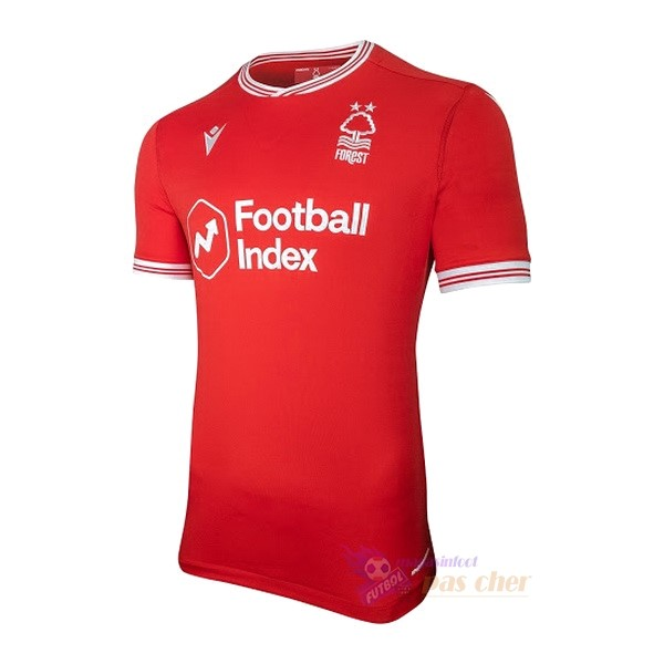 Magasin Foot Macron Domicile Maillot Nottingham Forest 2020 2021 Rouge