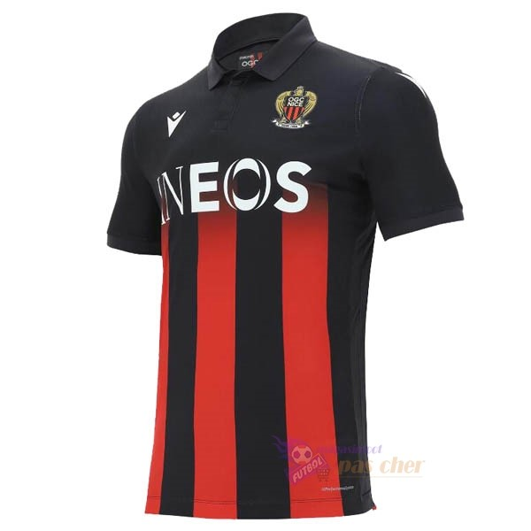 Magasin Foot Macron Domicile Maillot Nice 2020 2021 Rouge
