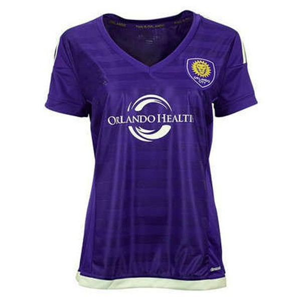 Magasin Foot adidas Domicile Maillots Femme Orlando City 2017 2018 Purpura
