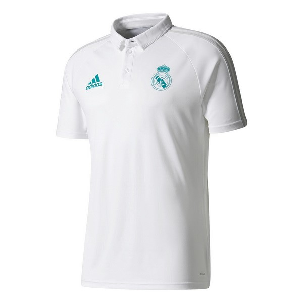 Magasin Foot adidas Polo Real Madrid 2017 2018 Blanc