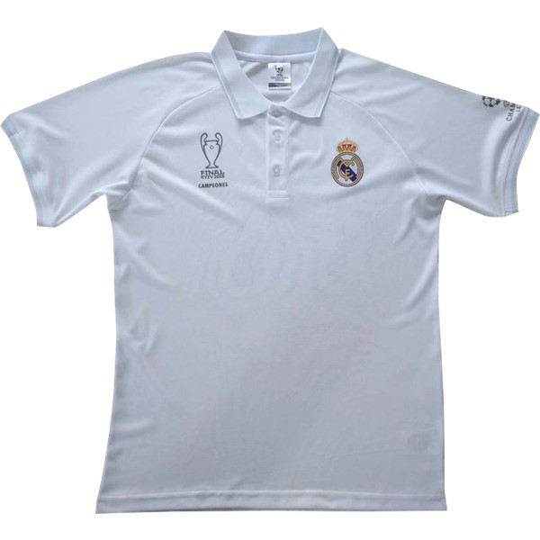 Magasin Foot adidas Polo Real Madrid 2018 2019 Blanc