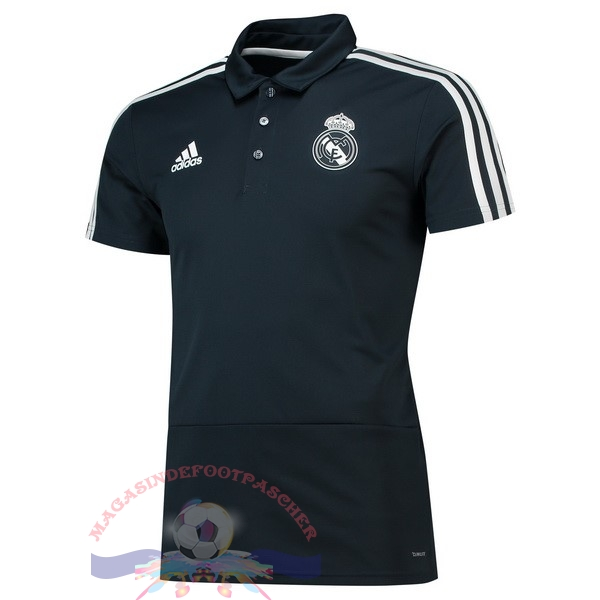 Magasin Foot adidas Polo Real Madrid 2018-2019 Noir