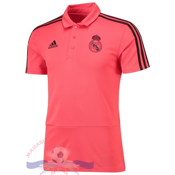 Magasin Foot adidas Polo Real Madrid 2018-2019 Rose
